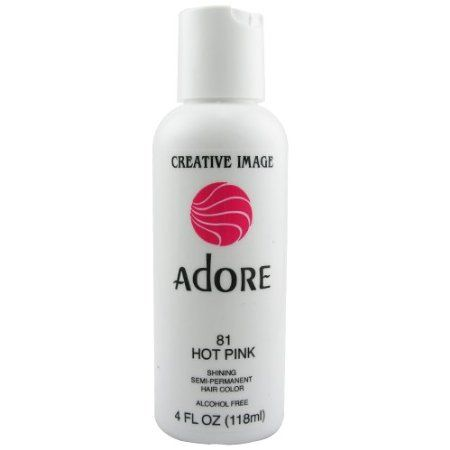 Adore Creative Image Hair Colour #81 Hot Pink