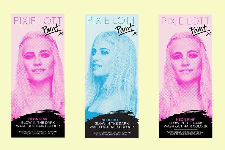 Pixie Lott Paint Hair Dye shades